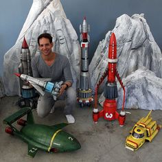 Thunderbirds Are Go.craft from the Gerry Anderson original series. Retro Toys, Vintage Toys, Timeless Series, Thunderbirds Are Go, Sci Fi Models, Sci Fi Ships, Space Toys, Futuristic Art, Science Fiction Art