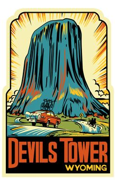 Devils Tower WY. I visited once, would like to go back.