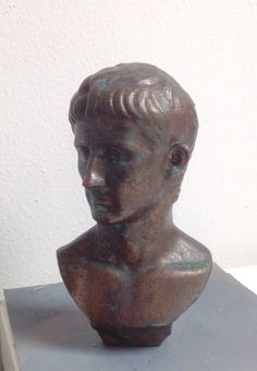 Augustus 3D print. More --> pinterest.com/cosmowenman/others-3d-prints-of-cosmo-wenmans-3d-scans/
