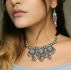 #thatbohogirl Kritika Khurana, Boho Girl, Kurtis, Statement Jewelry, Youtubers, Boho Fashion, Gypsy, Jewelery, Silver Jewelry
