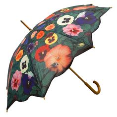 Umbrella with violets
