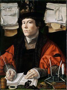 Jan Gossart, called Mabuse, Netherlandish (c. 1478–1532), Portrait of a merchant