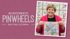 Kindred Pinwheels Quilt Pattern by Missouri Star - Missouri Star Quilt Co. - Missouri Star Quilt Co. - Finished Size: X for Squares. From Missouri Star Quilt Company Jenny Doan Tutorials, Msqc Tutorials, Quilting Tutorials, Quilting Projects, Quilting Ideas, Nine Patch, Pinwheel Quilt Pattern, Quilt Patterns, Pinwheel Tutorial