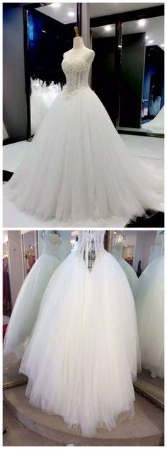 Wedding Dress,Wedding Gown,Bridal Gown,Bride Dresses, Long Wedding Dresses,Pearls Wedding Dresses,Ball Gown Wedding Dress.,Princess Wedding Dress,Lux