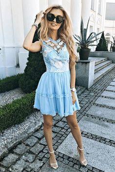 Cute Blue Short Prom Dress, Mini Homecoming Dresses T1400 by sweetdressy, $126.00 USD Blue Homecoming Dresses, Royal Blue Prom Dresses, Prom Dresses With Pockets, Dresses Short, Cheap Prom Dresses, Types Of Dresses, Dresses With Sleeves, Short Prom, Tulle Lace