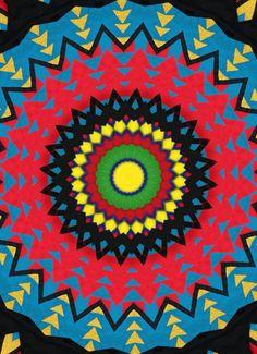 Red Mandala - Yellow Sun