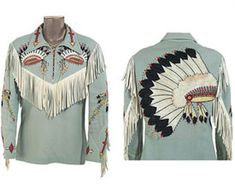 Nudie Cohn shirt for Roy Rogers
