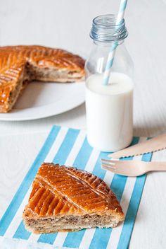 Galette des rois (pâte feuilletée express) // French King cake