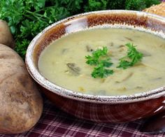 Porresuppe med kartofler opskrift - Madkogebogen