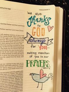 This Bible Journaling was created by a sweet friend Anna Sims Byers, Artesia, New Mexico