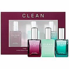 Sephora: CLEAN : The Best of CLEAN Fragrance Set : gift-value-sets-fragrance