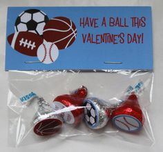 Printable Valentine or Birthday Sports by partypapercreations