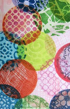 Mini Gelli® Stamping with Ink Pads!  Great guide with tips and tricks on using Ink Pads with Gelli printing plates!
