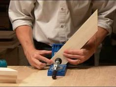 How to make a frame using the Kreg Jig