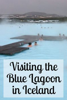 Relaxing at Iceland's Blue Lagoon