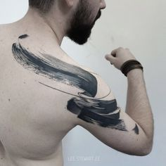 Abstract Tattoo Designs, Tattoo Designs Men, Abstract Tattoos, Watercolor Tattoos, Abstract Watercolor, Time Tattoos, Tattoos For Guys, Owl Tattoos, Tattoo Ink