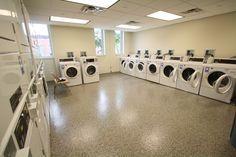 Mark Twain laundry room.