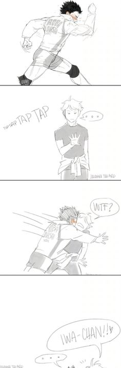 And again bc IWA-CHAN'S BOD IN THE FIRST ONE
