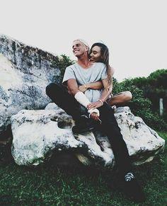 Alex Hayes and Eva