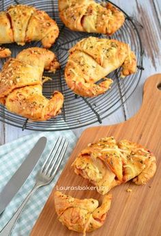 Pizza croissants - Laura's Bakery