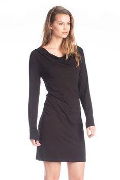 Bamboo Izzy Dress in Black
