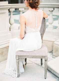 Lusting over this dress: http://www.stylemepretty.com/2015/01/22/romantic-pastel-copper-inspiration-shoot/ | Photography: Kayla Barker - http://www.kaylabarker.com/