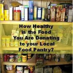 Are you planning on donating to your local food bank this holiday season?  If so, read this first! This is an awesome article!