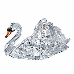 Graceful Swan. Spectacular. Swans are known for their faithfulness, making this a perfect anniversary or wedding gift!