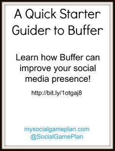 A Quick Starter Guide to @buffer - #SocialMedia #Marketing #SMM