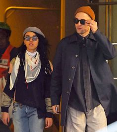 Robert Pattinson Steps Out with FKA Twigs