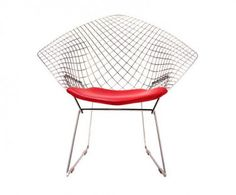 Diamond chair- Harry Bertoia
