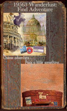 19563 Find Adventure - travel paper - 7gypsies