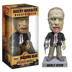 The Walking Dead Walker Merle Dixon Wacky Wobbler Bobble Head