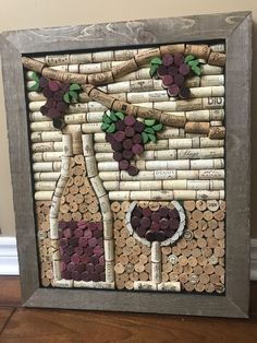 Natural decorations home decor in oakville wall decor natural cool diy wine cork crafts and decorations Wine Craft, Wine Cork Crafts, Wine Bottle Crafts, Crafts With Corks, Wine Cork Projects, Wine Cork Art, Wine Bottle Corks, Bottle Candles, Art Diy