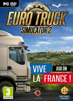 [PC FR] Euro Truck Simulator 2 : Vive la France – SKIDROW – Game Télécharger