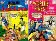 Superman Fan Podcast Episode #221: Superman Family Comic Books Cover Dated July/August 1957: Showcase #9 & World's Finest Comics #89! http://thesupermanfanpodcast.blogspot.com/2012/04/superman-family-comic-books-cover-dated.html