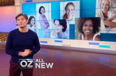 Dr. Oz has cutting-edge information on anti-aging techniques and guidelines. Learn how to slow aging from the inside out! Plus, get pertinent information on beauty products, supplements, diet and nutrition, mental health, and fitness routines to turn back the clock.
