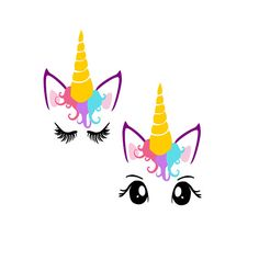 Unicorn Head SVG, Unicorn SVG, Unicorn Clipart, Unicorn Eyelashes SVG, Svg unicorn, Svg Files, Cricut, Silhouette Cut Files,Eyelash, Unicorn Elements are separated so you can mix and match and have unique faces. Would make a cute shirt, sign, decal. This is a SVG file that you can use