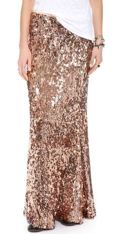 Free People Sequins for Miles Maxi Skirt |SHOPBOP | Save up to 25% Use Code BIGEVENT13