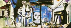 The beach in Garoupe 1955 Pablo Picasso