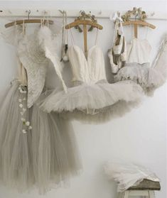 Antique ballet tutus from: shabbyfrenchforme.blogspot.com