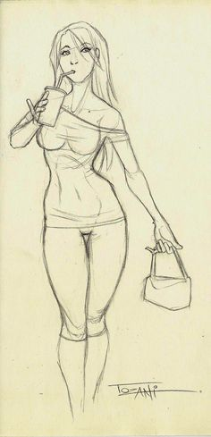 Daily Sketch Febrero 29 by Tozani on @deviantART