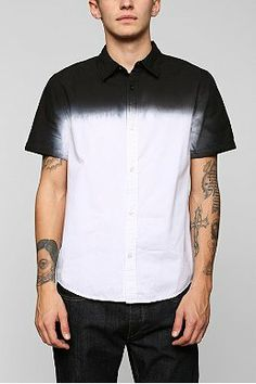 Charles & 1/2 Dip-Dye Button-Down Shirt Price