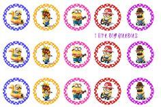 I like big freebies: Despicable Me bottlecap images (Minions) Minion Party Theme, Despicable Me Party, Minion Birthday, Party Themes, Party Ideas, Bottle Cap Art, Bottle Cap Crafts, Diy Bottle, Bow Image