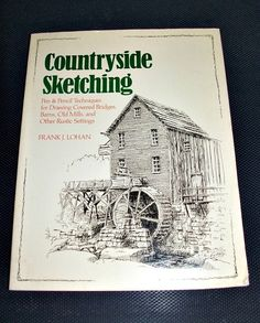 VINTAGE BOOK Countryside Sketching: Pen & by JunqueInMyTrunks