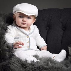 Dinstry autumn new arrival baby clothes year old baby boy and baby girl keep warm suit long sleeves gentleman two pieces online shopping mall, buying fashion dresses & rapid delivery. Start your amazing deals with big discounts! Baby Boy Baptism Outfit, Baby Christening, Baby Boy Outfits, Kids Outfits, Christening Photos, Outfit Bautizo, 3 Years Old Baby, 4 Years, Baby Blessing