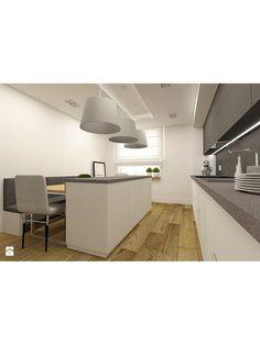 Zdjęcie: Nowoczesna kuchnia w apartamencie w Tomaszowie Mazowieckim