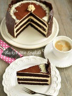Schoko- Karamell- Torte
