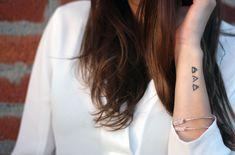 glyph tattoo | transcend + protect + explore