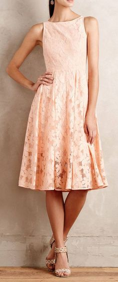 Tanith Midi Dress, I like the color, length, and shape, but not the cartoon-y flowers pattern